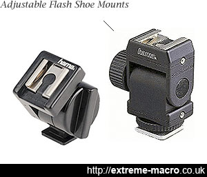 Hama flash shoe mounts