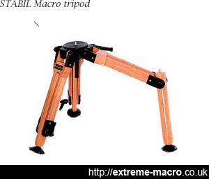 Stabil wooden tripod