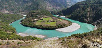 Three Parallel Rivers National park, Yunnan, China.