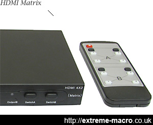 HD SMX402 HDMI Matrix