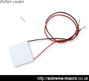 Peltier cooler