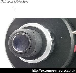 JML 20x NA.30 objective