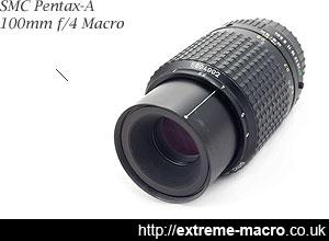Pentax-A 100mm f/4 Macro